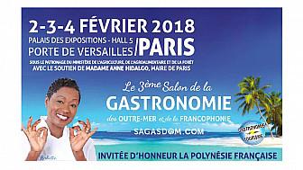 Babette de Rozières vous invite à découvrir le Salon de la Gastronomie d'Outre-mer @BabetteDR #salondelagastronomiedoutremer